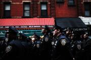 Ocho miembros de la policía de Nueva York están graves por el covid-19. Ninguno de ellos estaba vacunado