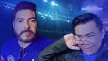 Raúl Brindis y el Rolis creyeron haber perdido sus cinturones al entrar al Estadio Azteca