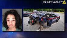 Todo quedó captado en video: Mujer acusada de DUI choca una patrulla y atropella a un policía de Atlanta