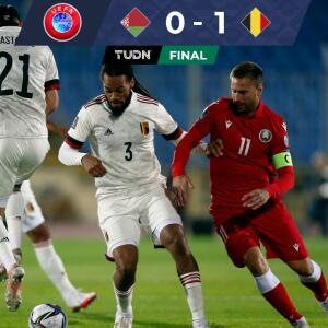 Con un solitario gol, Bélgica ganó y se encamina a Qatar 2022