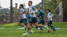 'Cabecita' Rodríguez y Baca superan el COVID-19 y ya entrenan con Cruz Azul