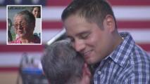 Madre se reúne en Houston con su hijo después de haber sido separados hace 38 años en Chile