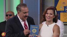 ¡Máxima distinción! Adriana Monsalve recibió el pasaporte de la República Deportiva