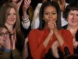 """""""No tengan miedo"""": el mensaje inspirador con el que Michelle Obama lloró y se despidió de los jóvenes del país"""