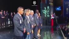 ¡Noche de capitanes! Así fue la emotiva gala del Salón de la Fama en 2013