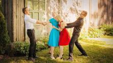 La historia de los mellizos que se enamoraron de otras mellizas y se van a casar