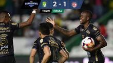 ¡El Campeón despierta! León vence 2-1 al Toluca y se afianza en repechaje