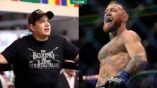 McGregor pide a Eddy Reynoso que lo entrene