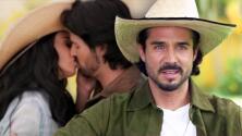"""""""Puro fueguito"""": José Ron habla de las escenas candentes que el público puede ver en La Desalmada"""