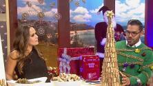 ¡Construye un arbolito navideño con corchos!
