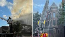 Un incendio consume varios apartamentos y un negocio en el vecindario de Pilsen