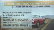 Usted podría recibir hasta $1,200 por su vehículo viejo mediante un programa gubernamental