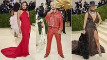 📸 Los latinos y los vestidos más impactantes del extravagante Met Gala 2021