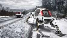 El Hyundai Elevate Concept es el primer carro con cuatro piernas