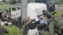 10 muertos y 20 heridos en choque de furgoneta en Texas