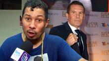 """""""Quería mi venganza"""": dice Héctor Camacho Jr. de la pelea que tendrá con Julio César Chávez este fin de semana"""