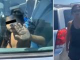 Arrestan a madre que dejó a sus hijos en una minivan bajo intensas temperaturas