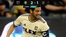 Carlos Vela anota, pero LAFC pierde de último minuto ante Timbers