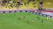 ¡GOL!  anota para AS Monaco. Krépin Diatta
