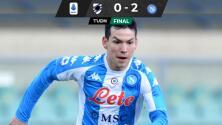 Hirving Lozano no jugará ante Inter y Napoli gana a Sampdoria