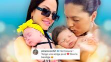 """Gennaro, el hijo de Francisca, ya quedó """"reservado"""" para la bebé de Natti Natasha"""