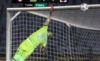 Luis Ángel Landín anota en el empate de Guastatoya ante LDA