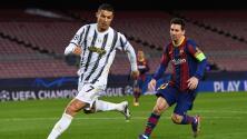 Cara a cara: Cristiano Ronaldo se lleva los reflectores sobre Messi