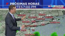 Posibilidades de lluvias y condiciones frías para este martes en la noche en el área triestatal