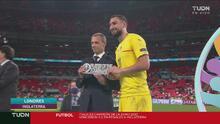 Donnarumma se consagró como el mejor jugador de la Euro 2020