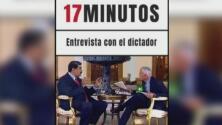 '17 minutos: Entrevista con el dictador', el libro de Jorge Ramos que relata su encuentro con Nicolás Maduro