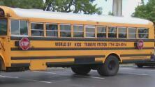 Autobús escolar choca contra dos vehículos y deja unos 14 menores hospitalizados