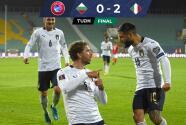 Con goles de Belotti y Locatelli, Italia venció a Bulgaria