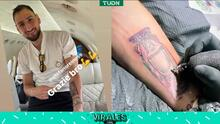 Gigi Donnarumma y su primer tatuaje: la Eurocopa