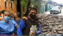 El recuento de los daños del terremoto de 7.5 que sacudió México y por el que han fallecido seis personas