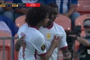 ¡No los dejan ni acomodar! Qatar le madruga al segundo tiempo con el 0-4