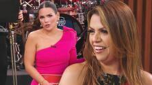 Karina le pidió consejo a Ana Lucía para no ser tan celosa con su marido Carlos Ponce