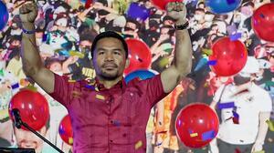 ¡¿Cuelga los guantes?! Pacquiao va por la presidencia de Filipinas