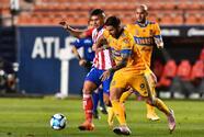 San Luis rescata de último minuto el empate ante Tigres