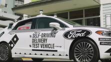 ¿Cómo funcionaría la entrega de domicilios en vehículos sin conductor?