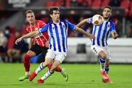 PSV y Real Sociedad reparten puntos en un juegazo