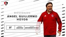 Guillermo Hoyos fue presentado como nuevo técnico de Atlas