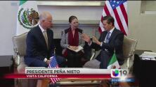 Enrique Peña Nieto en California
