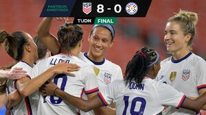 Team USA vuelve a humillar a Paraguay con hat-trick de Alex Morgan