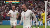 ¡El más rápido de una Final! Shaw pone el 1-0 sobre Italia