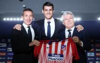 Atlético de Madrid ya presentó a Álvaro Morata