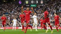 Liverpool alcanza al Manchester en la Premier League