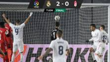 Real Madrid cierra su año en casa con una victoria ante el Granada