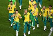 Repudio a selección de Brasil por no usar uniforme en premiación
