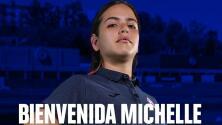 Cruz Azul hace oficial a Michelle Montero, primera extranjera en su historia