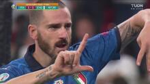 ¡Llega el empate! Poste de Verratti y Bonucci pone el 1-1
